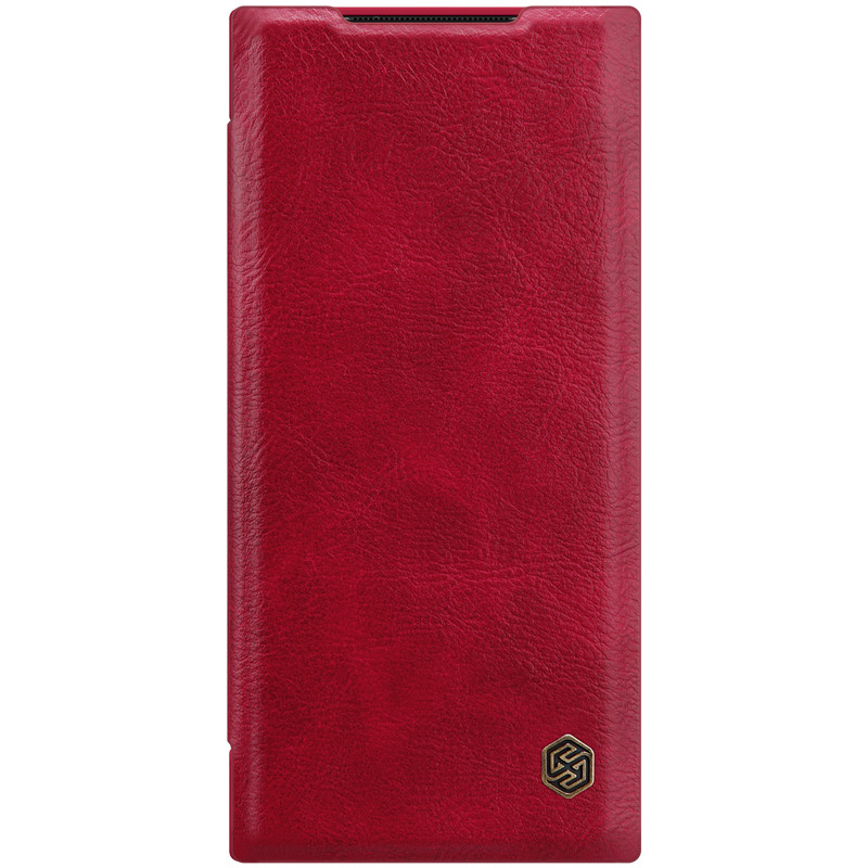 Nillkin Samsung Galaxy Note 20 Ultra Qin leather case Red Чехол Книжка