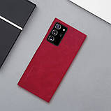 Nillkin Samsung Galaxy Note 20 Ultra Qin leather case Red Чехол Книжка, фото 6