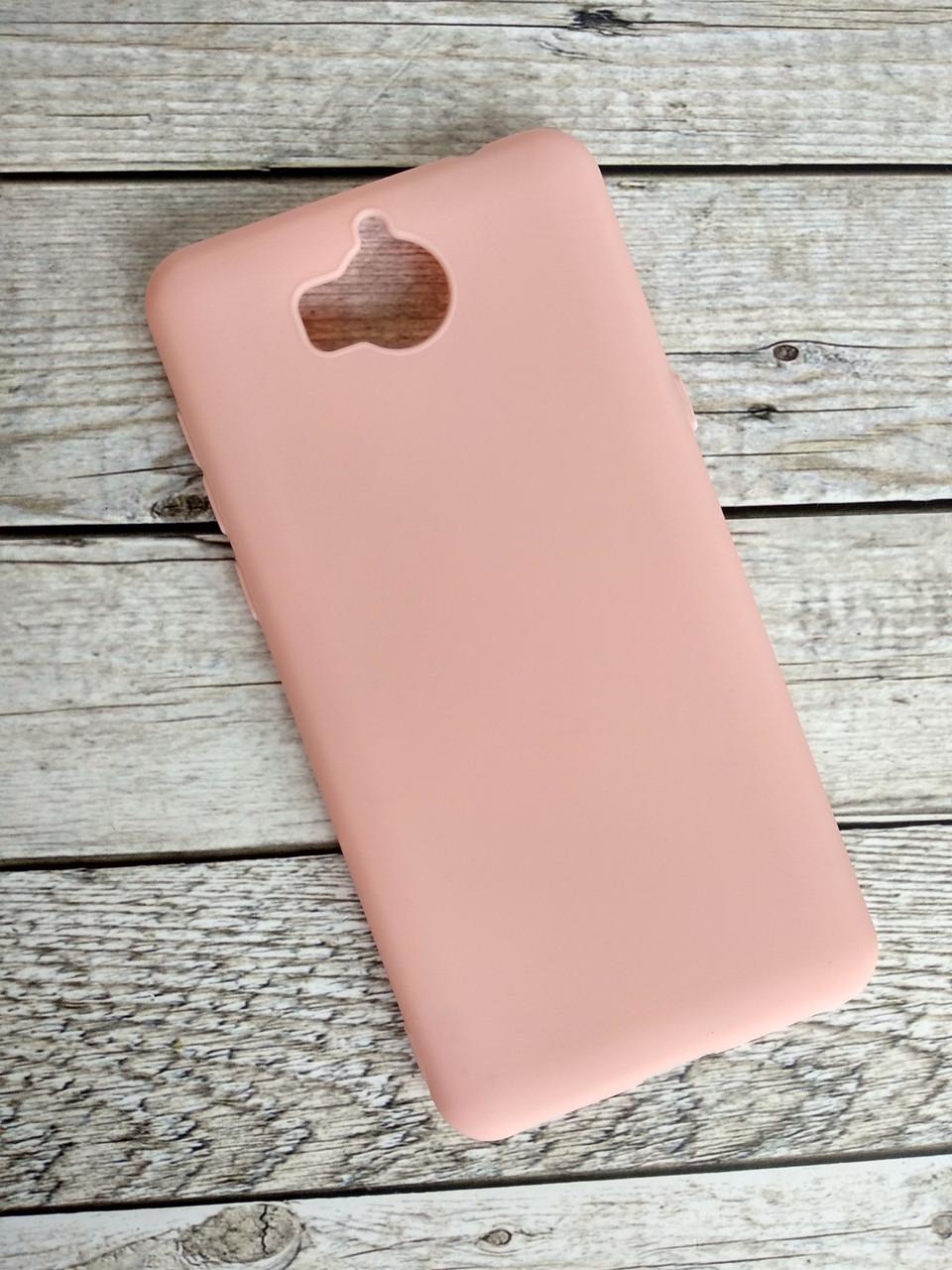 Чехол Huawei Y5 (2018) Silicon TPU Soft Case Pink