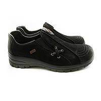 Туфлі Rieker 36(р) Чорний Нубук 0-1-1-L-7171-00