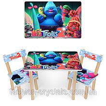 Детский стол и 2 стула 501