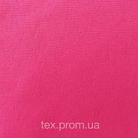 Трикотажное полотно рибана пенье хб 30/1, ярко-розовый