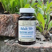 Витамины Puritan's Pride Adult 50+ Mature 60 таблеток (возраст 50+)