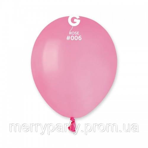 """3"""" (8 см) пастель розовый Gemar Италия латексный шар"""