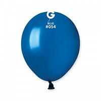 """5""""(13 см) металлик синий G-54 Gemar Италия латексный шар"""