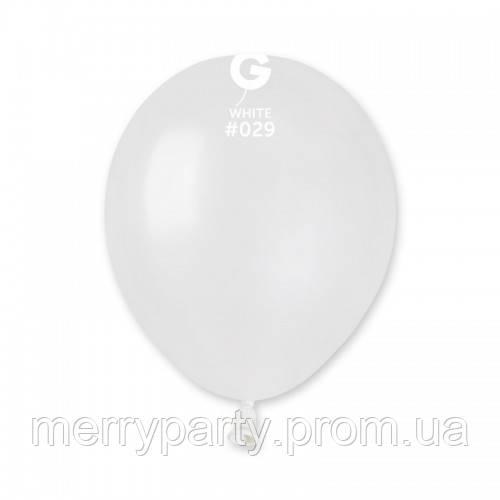 "5""(13 см) металлик белый G-29 Gemar Италия латексный шар"