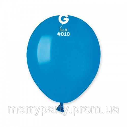 """5"""" (13 см) пастель голубой G-10 Gemar Италия латексный шар"""