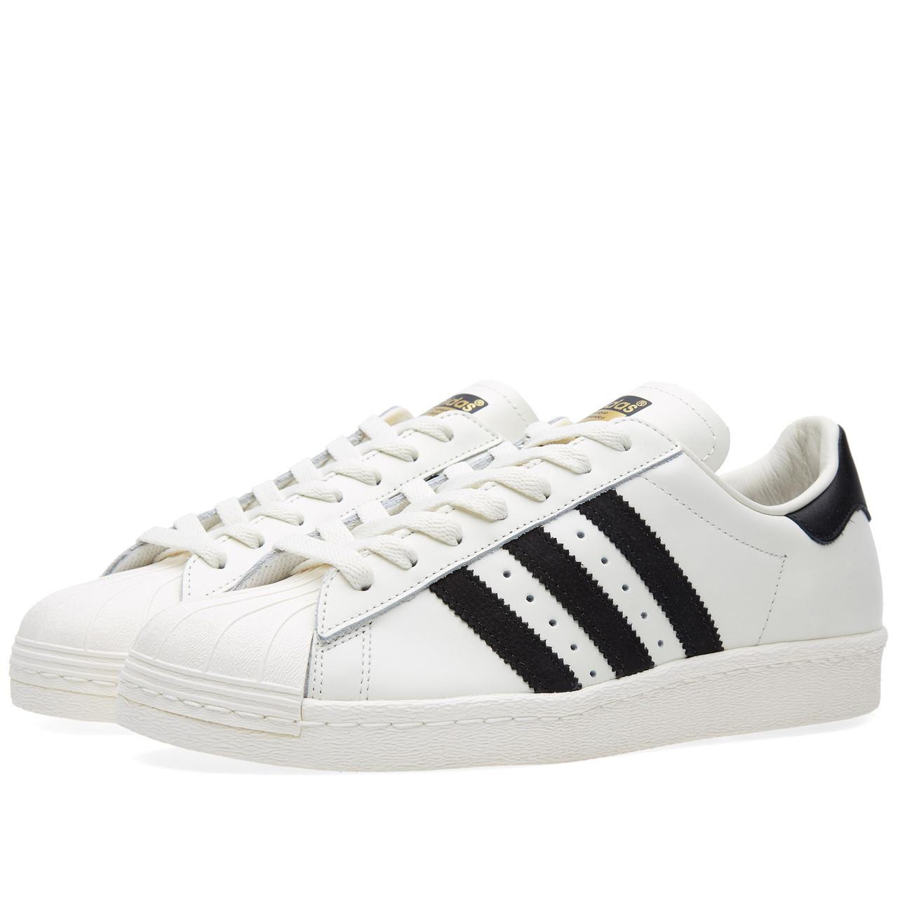 Мужские кроссовки Adidas Superstar white-black-gold  купить в  Днепропетровске и Украине от