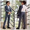 Стильный школьный костюм на мальчика пиджак и брюки