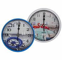 Часы настенные №В18 (16 * 16 * 4см)