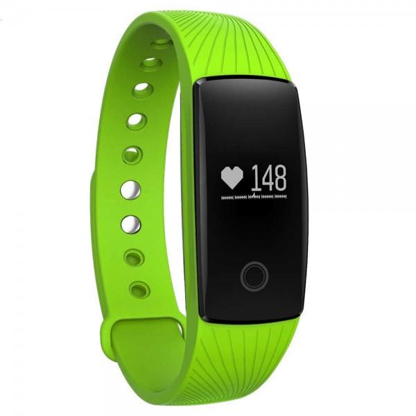 Умный фитнес-браслет Smart Band Pro Maxi ID107 Original  Зеленый