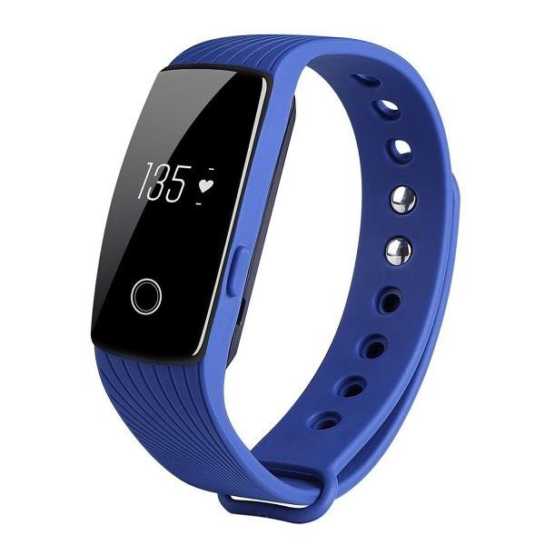 Умный фитнес-браслет Smart Band Pro Maxi ID107 Original  Синий