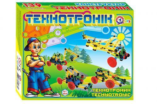 "Детский конструктор ""Технотроник ТехноК"", 139 дет 0830"