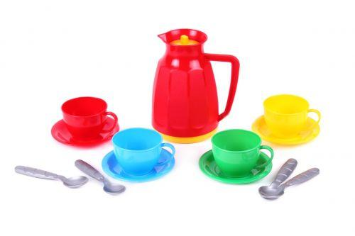 """Детский игровой набор посуды «Маринка 8 ТехноК"""" (13 шт) 1509"""