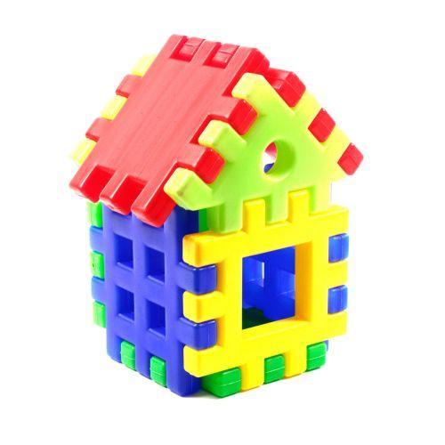 Детский конструктор пазл «Домик» (9 элементов) ИП.09.001