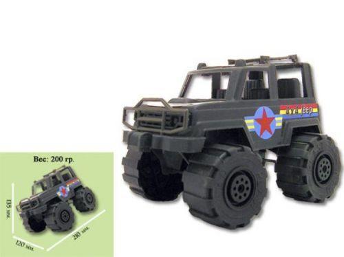 Детская игрушечная спецтехника Машинка Джип военный KW-05-502