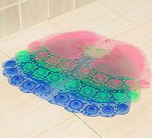 """Коврик силиконовый в ванну """"Ноги"""" 35х55см"""