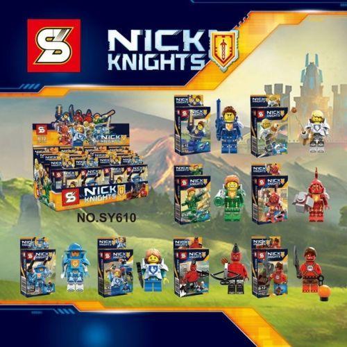 """Конструктор """"Nick Knights"""", 33 дет SY610"""