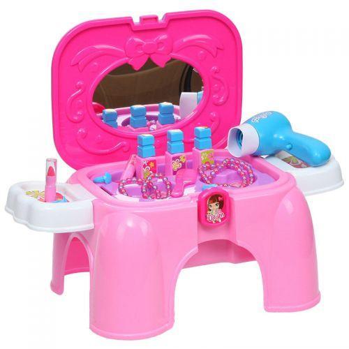 """Игрушечная мебель для кукол раскладной столик-стульчик с аксессуарами """"Beauty"""" 008-95"""