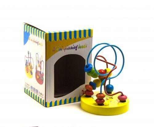 """Детская развивающая игрушка Лабиринт малый """"Винни"""" (желтый) Д197у-1"""