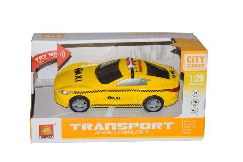 """Детская игрушечная Инерционная машина """"Такси"""" WY630C"""