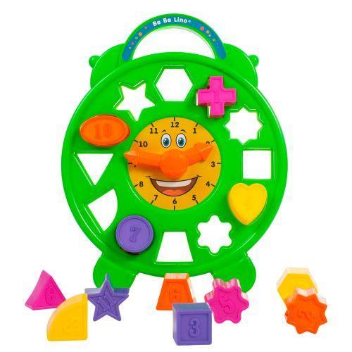 Детская развивающая игрушка - Сортер - часы 58022