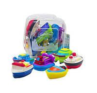 """Дитячі Іграшки для ванної """"Кораблики"""", 6 штук CQS608-6"""