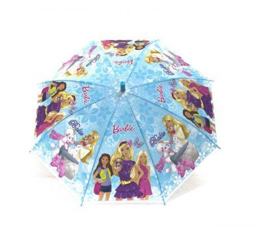 Дитяча парасолька Барбі (блакитний) K204F