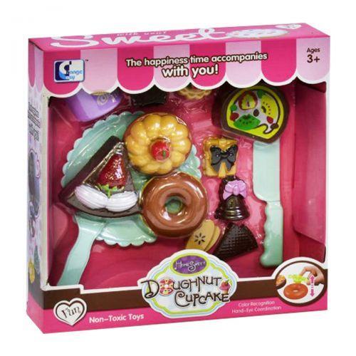 """Детский игровой набор сладостей """"Doughnut Cupcake"""" PO100-4"""