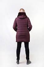 Женская зимняя куртка с мехом эко-мутон  рр 48-54, фото 2