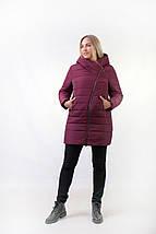 Женская зимняя куртка с мехом эко-мутон  рр 48-54, фото 3