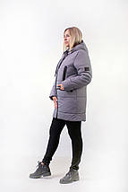 Зимняя куртка с манжетами   рр 44-52, фото 3