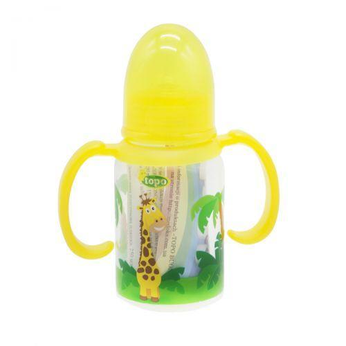 Дитяча пляшечка для годування, 150 мл жовтий T004