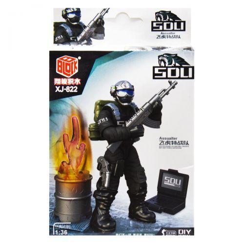 "Конструктор ""SOLI: Спецназ"" C XJ-822"