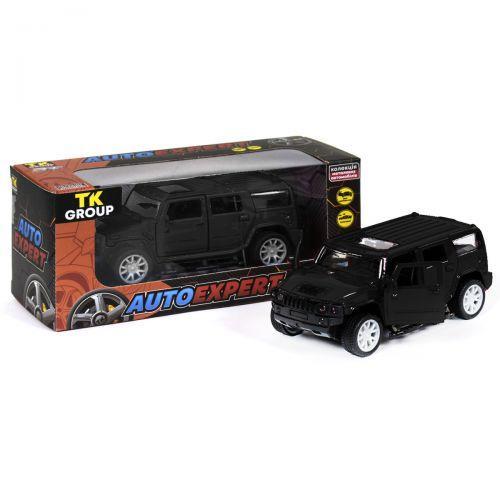 Дитяча іграшкова Машинка металопластик Hammer H3, чорний S18022