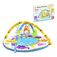 Дитячий розвиваючий Ігровий килимок Happy Baby D078