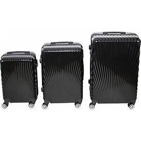 Комплект чемоданов № BL-227  Чёрный