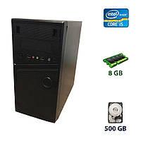 Ezcool Tower / Intel Core i5-750 (4*2.66 - 3.2 GHz) / 8 GB  / 500 GB  / GeForce GT 220, 1 GB  / 400W