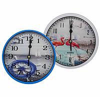 Годинник настінний №В18 (16*16*4см)