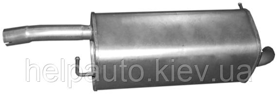 Глушитель для Mazda 2 / Ford Fiesta
