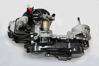 Двигатель (В сборе)  на Китайский Скутер 4Т 4-х тактный (Gy6) 80 см³ (139QMB, короткий) (10 колесо) EVO