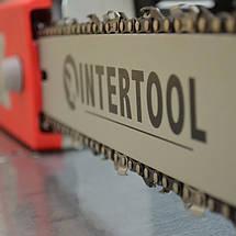 Пила цепная 2000 Вт, 800 об/мин, шина 405 мм, 230 В INTERTOOL DT-2201, фото 2