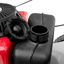 Газонокосарка бензинова 4,5 HP (3,4 кВт) ширина зрізу 460 мм самохідна INTERTOOL LM-4546, фото 3