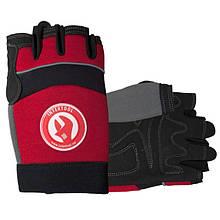 """Перчатка Microfiber без пальцев, вставки спандекса и неопрена, эластичный манжет на липучке, 9"""" INTERTOOL SP-0142"""