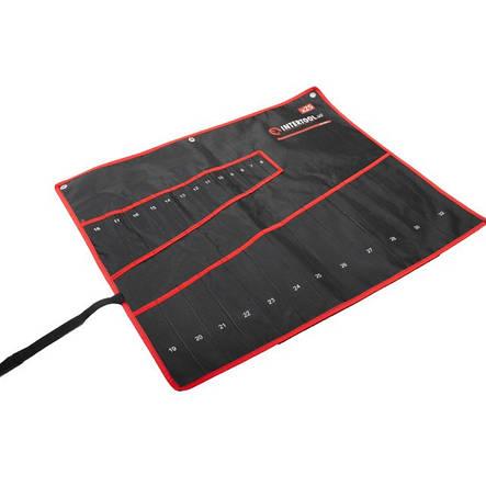Чехол для гаечных ключей 25 карманов INTERTOOL BX-9011, фото 2