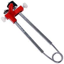 Плиткоріз ручний, мах. товщина плитки 12 мм, мах. ширина отрезаемого ділянки 100мм INTERTOOL HT-0370