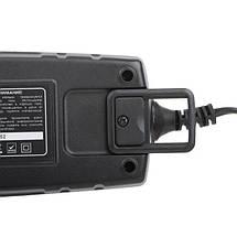 Зарядное устройство 6/12В, 1/2/3/4А, 230В, зимний режим зарядки, дисплей, максимальная емкость заряжаемого аккумулятора 1.2-120 а/ч INTERTOOL AT-3024, фото 3