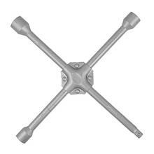 """Ключ баллонный крестовой укрепленный 14"""" x 355 мм, D=16 мм, 17; 19; 21 мм INTERTOOL HT-1604"""