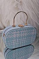 Небольшая женская голубая сумка клатч код 7-2017, фото 1