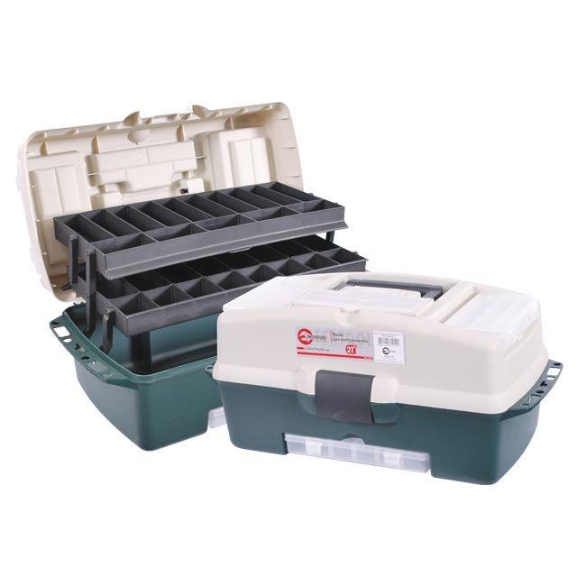 """Скринька для інструментів, 21"""" 530x270x245 мм INTERTOOL BX-6121"""